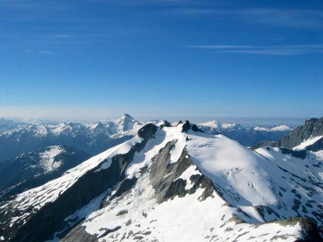 View looking south...Icy Peak...