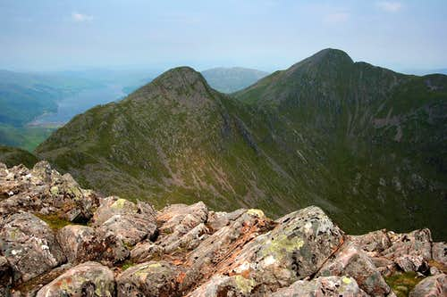 View West from Sgurr nan Spainteach