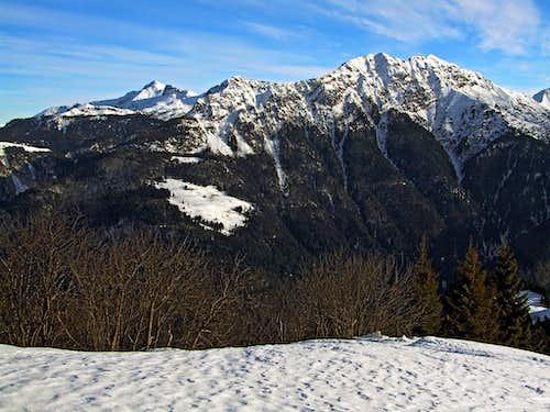Monte Zermula from the SW
