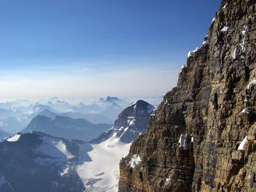 East Face of Mt Assiniboine