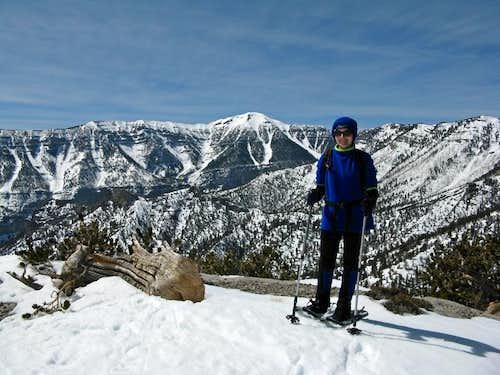 On Fletcher Peak
