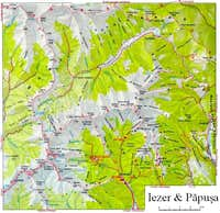 Iezer map 1