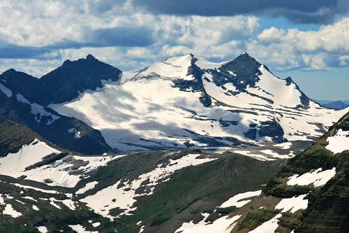 Gunsight Mountain - Sperry Glacier