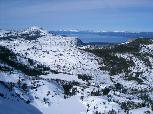 Lake Tahoe from Ralston Peak Summit