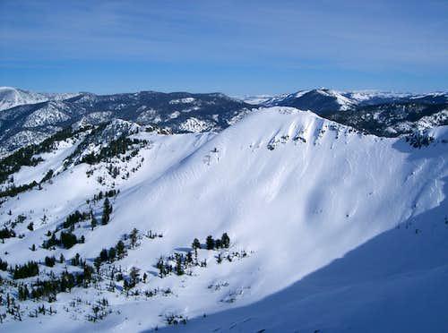 East Ridge of Ralston Peak