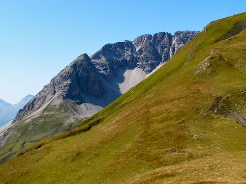 The east wall of the Rüfispitze