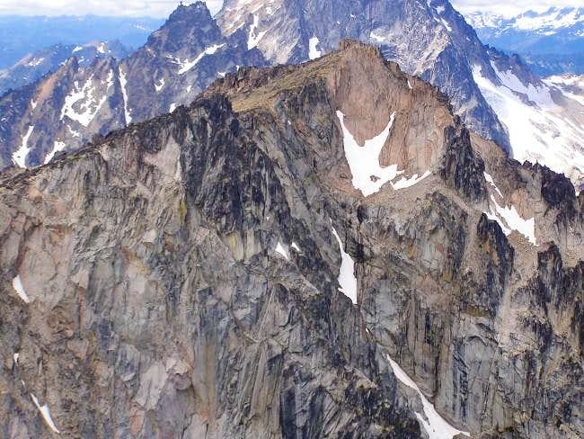 Colchuck from the summit of...
