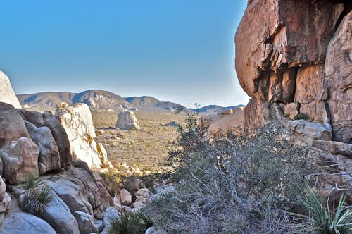 Bird\'s eye view of Intersection Rock...