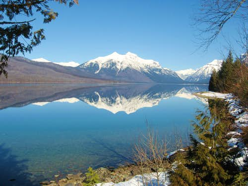 Perfect Reflection on Lake McDonald