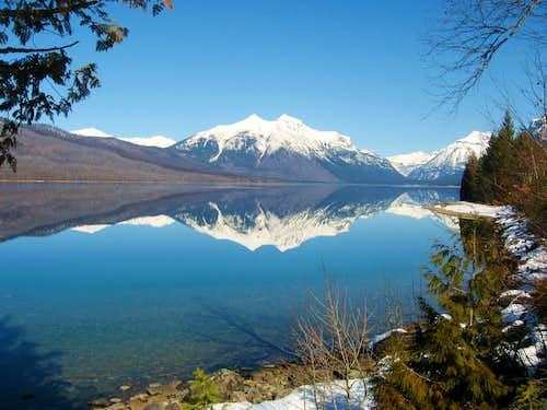 Perfect Reflection on Lake McDonald