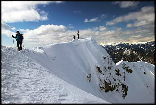 The summit of Dobratsch
