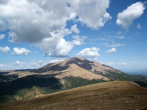 Pikes Peak from Almagre