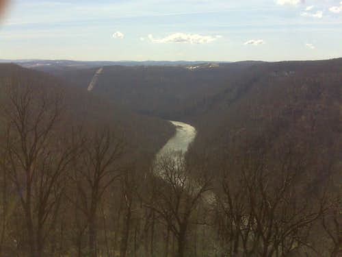 Coopers Rock overlook