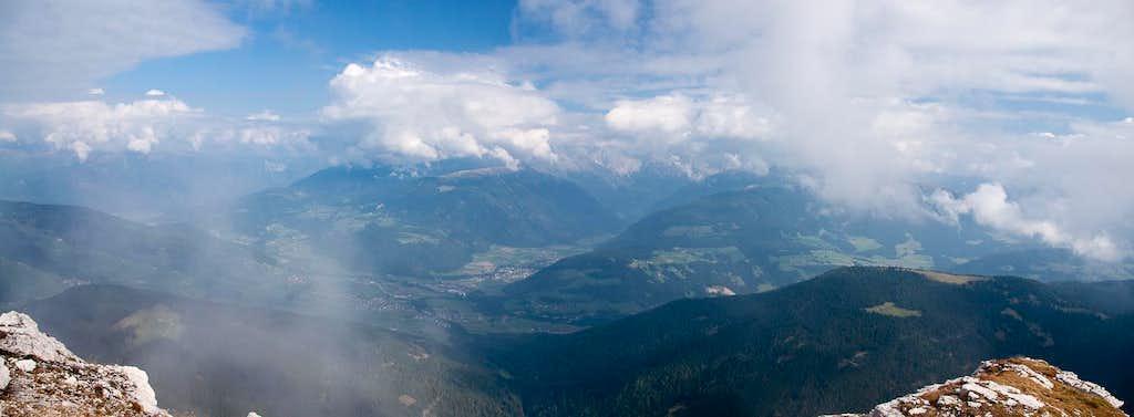 Summit View across Pustertal