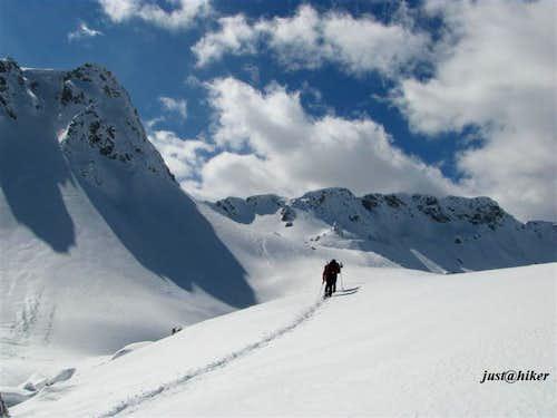 Treskavica mountain ascent