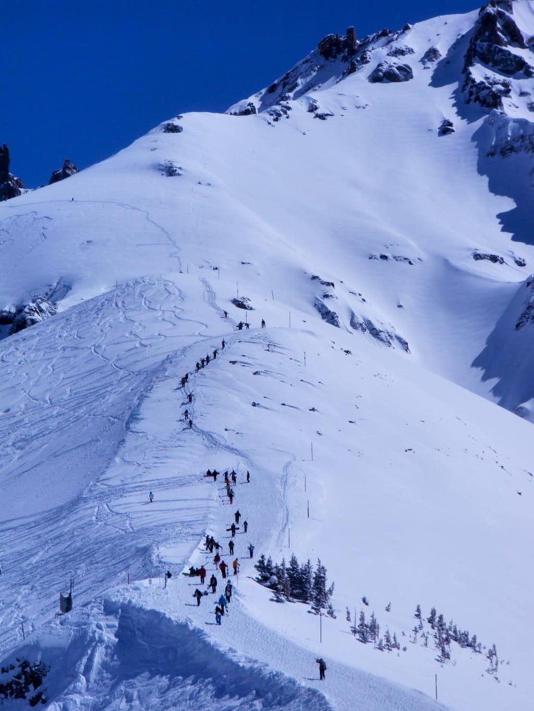 Ridge hikers