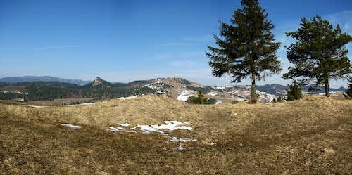 Panorama of Małe Pieniny