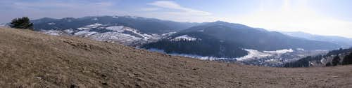 Panorama of Magura Spiska