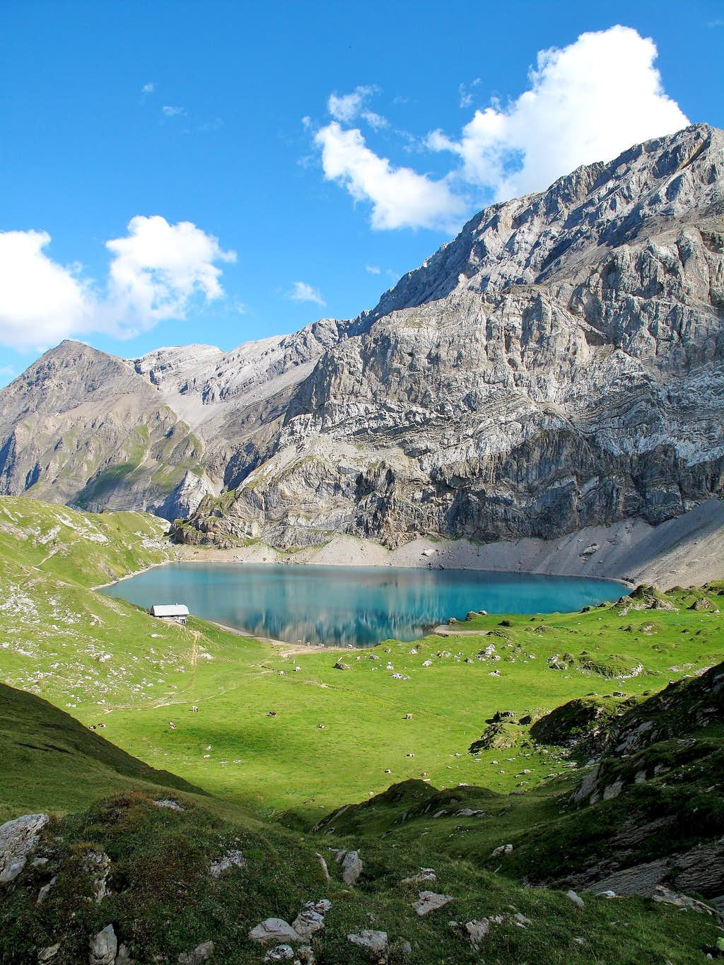 The Iffigsee lake (2065m)