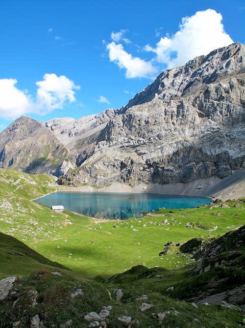 The Iffigsee lake (2065m)