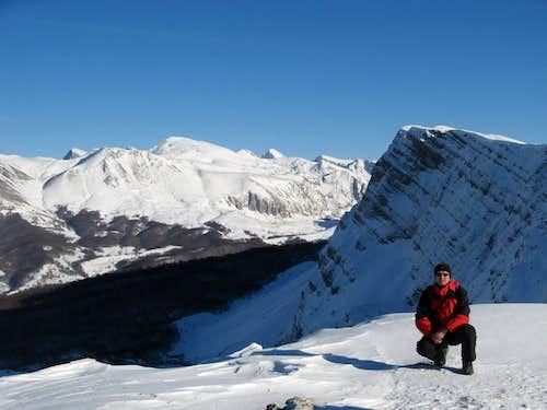 Me on the mountain Lebršnik