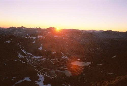 Sierra sunset, as seen from...