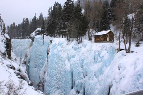 Entry to Ice Park