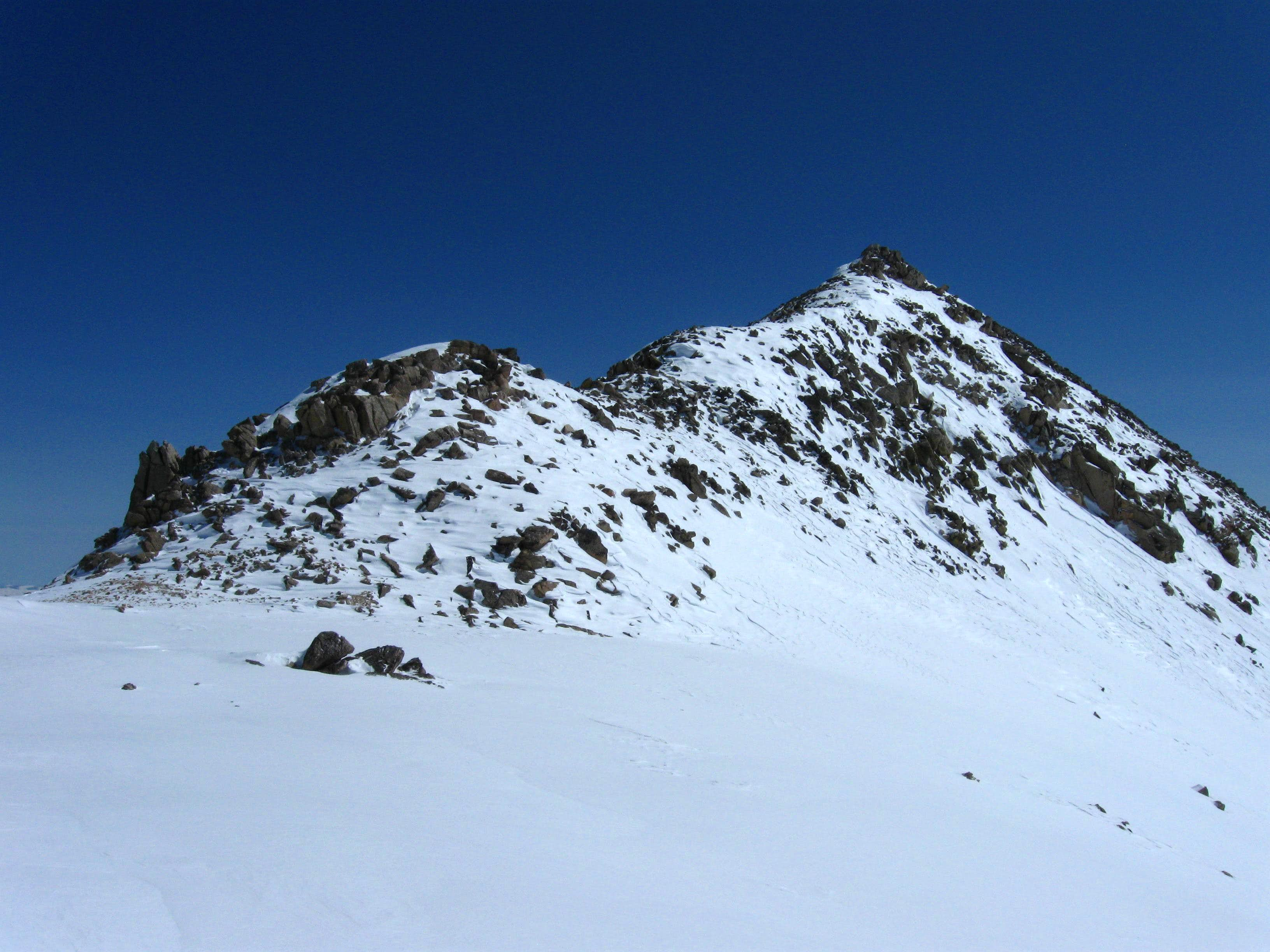 A non-winter ascent of Mount Yale