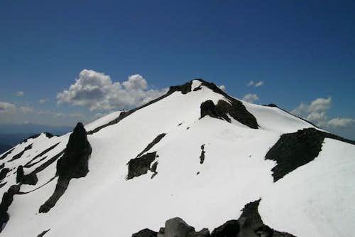 True summit of Diamond Peak...