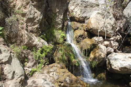 Waterfalls in Solstice Canyon
