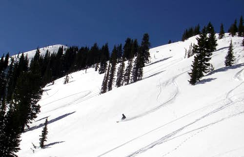 Troy skiing Peak 10,420