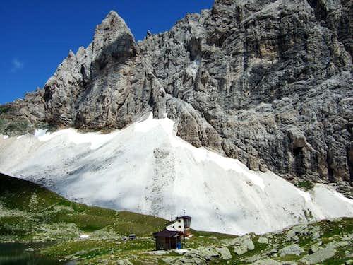 Calciati hut (Tribulaunhütte)
