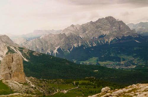 Cinque Torre and Cristallo