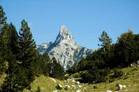 Zubac (Tooth) on the mountain Prenj