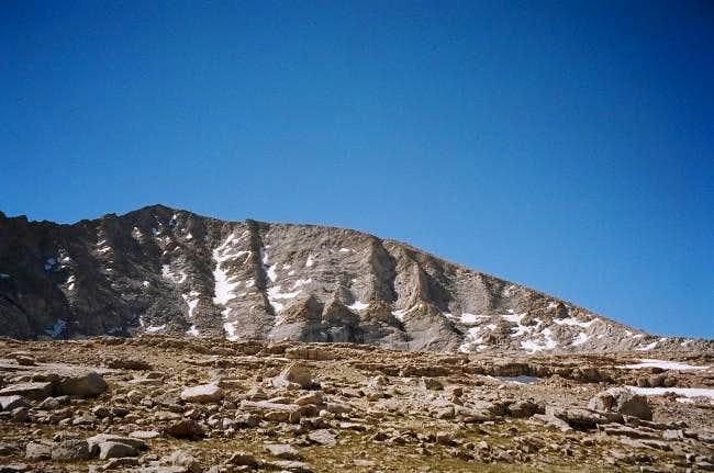 North slopes of Barnard from...