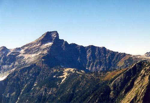 Luna Peak from the southeast...