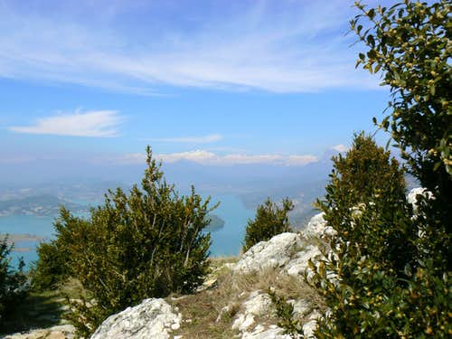 Monte Perdido from the Monastery of San Emeterio y San Celedonio