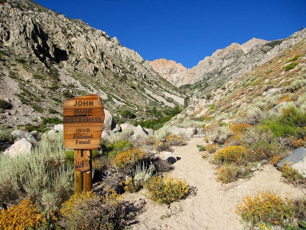 Taboose Pass Trail