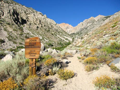 Taboose Pass Trail