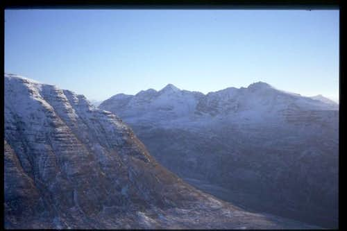Liathach from nearby Beinn...