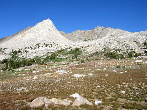 West Face of Striped Mountain