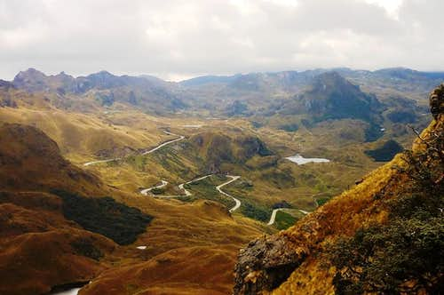 View from Avila Huaycu