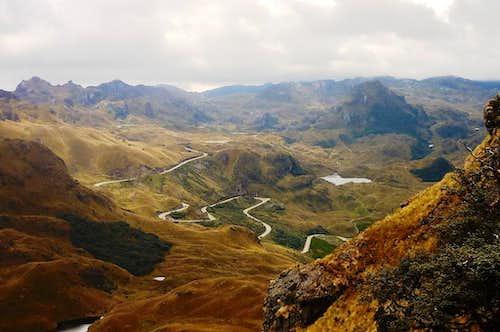 View from Avila Huaycu