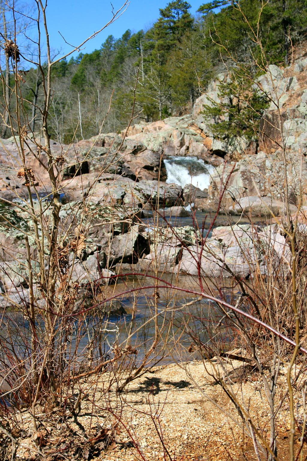 Falls at Klepzig Mill
