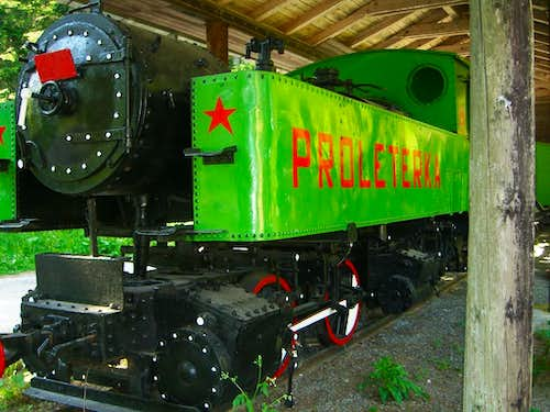 partisans locomotive