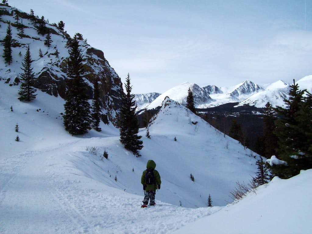 Route to Section House/Boreas Pass