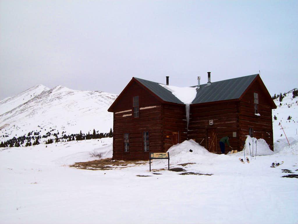 Wind battered cabin