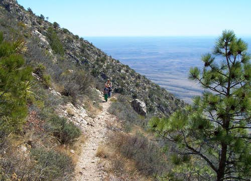 Bear Canyon route