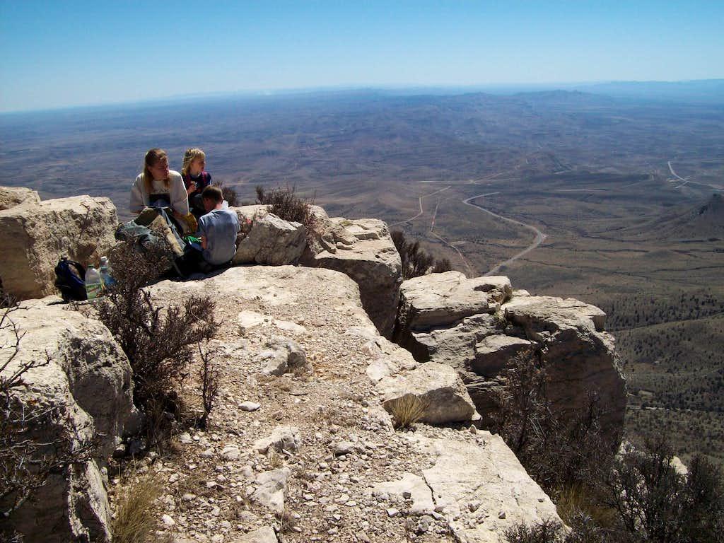 Summit of Hunter Peak