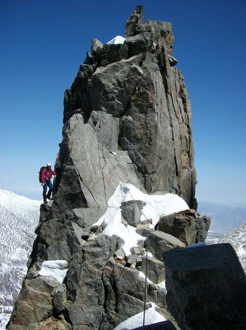 Moon Goddess Arete in winter